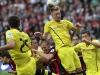 1:2 Niederlage gegen Dortmund. Foto: Stefan Krieger.