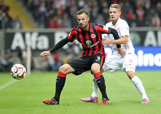 23.09.14: Eintracht - Mainz 2:2. Foto: Stefan Krieger.