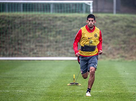 Training 01.10.14. Foto: Stefan Krieger.