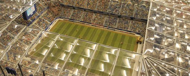 Volksparkstadion, Modell.