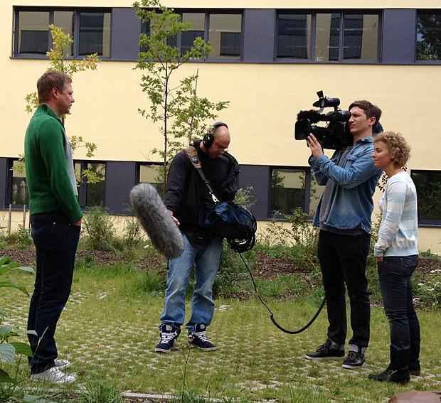 Herr Durstewitz gibt Auskunft. Foto by Wischtelefon.