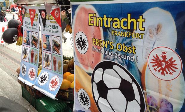 Obst- und Gemüse von der Eintracht. Foto: Wischtelefon.