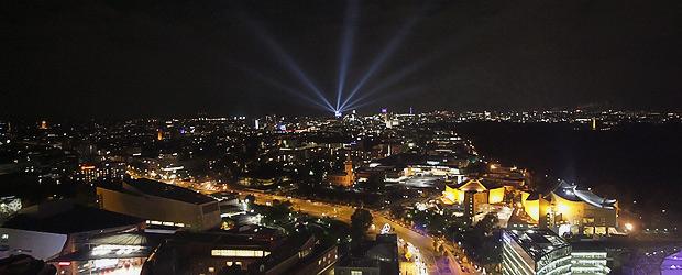 Schaut auf diese Stadt. Foto: Stefan Krieger.
