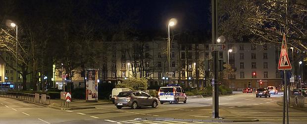 Baseler Platz, 05:30 Uhr. Foto: Stefan Krieger