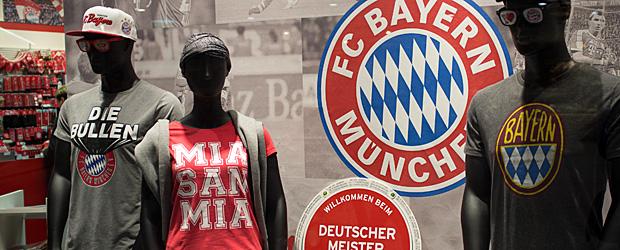 München nach der Verpflichtung von Sebastian Rode. Foto: Stefan Krieger.
