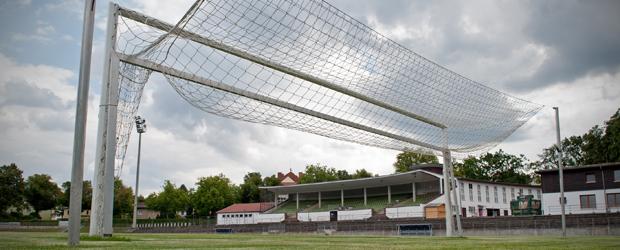 Idylle: Stadion Lichterfelde in Berlin. Foto: dpa