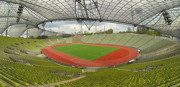 Stadion in München. Foto: Stefan Krieger.