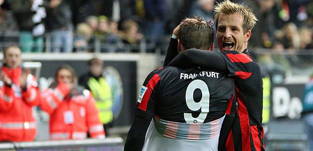 Jubel nach dem 2:0. Foto: Stefan Krieger.