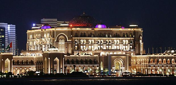 Bye bye Emirates Palace. Foto: Heiko Rhode.