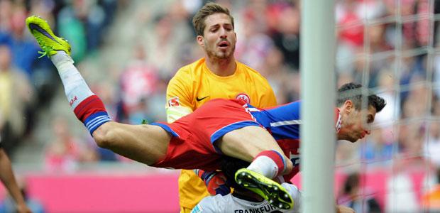 Toooooor für die Bayern. Foto: dpa.
