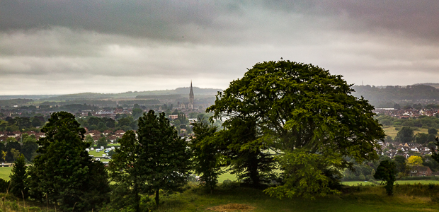 A view from Salisbury Hill. Foto: Stefan Krieger.