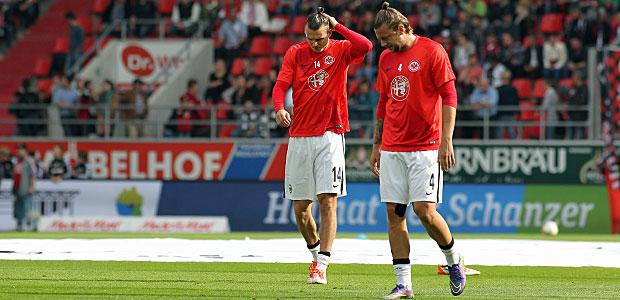 Körpersprache schon vor dem Spiel: Drei Zöpfe für ein Halleluja. Foto: Stefan Krieger.