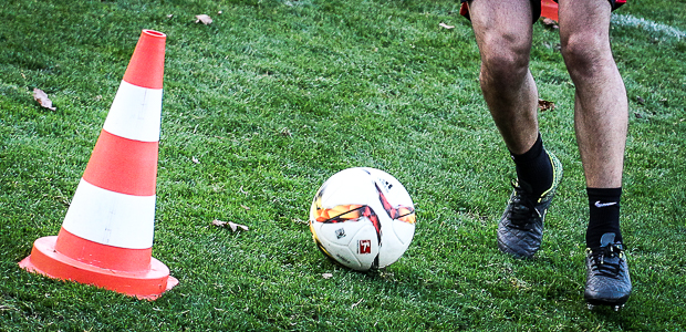 Ball, rollend. Foto: Stefan Krieger.