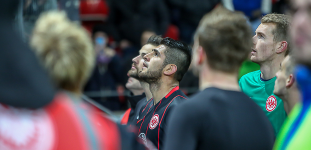 Ansage nach dem Spiel: Darmstadt ist wichtig. Foto: Stefan Krieger.