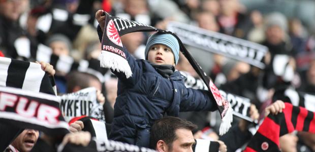 Eintracht-Fan im Wachstum. Foto: Stefan Krieger.