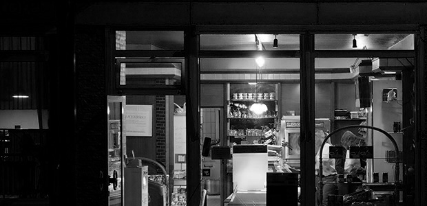 Der Bäcker. Foto: Stefan Krieger.