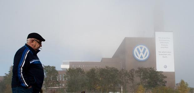 So schön ist Wolfsburg. Foto: dpa.