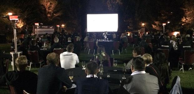 Eintracht-Event im Hardrockhotel. Foto: dani