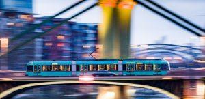 Symbolbild Frankfurt. (c) dpa