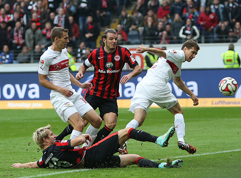 25.10.14: Eintracht - Stuttgart 4:5