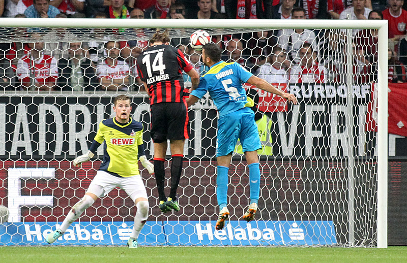 4. Oktober 2014: Eintracht besiegt Köln mit 3:2 Toren. Foto: Stefan Krieger.