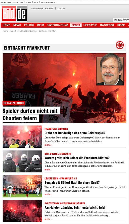Screenshot Bild-Online, 22.01.2013