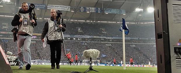 Auf Schalke. Foto: Stefan Krieger.