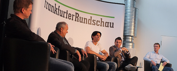 Ingo Durstewitz, Harald Stenger, Bruno Hübner, Christian Heidel, Jan Christian Müller (vlnr.). Foto: Stefan Krieger.