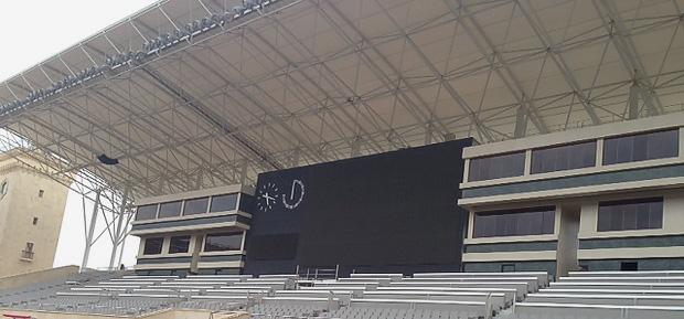Baku Stadion. Foto: Ingo Durstewitz.