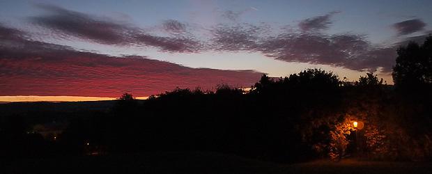 Das Morgenorakel sagt: Bumm! Foto: Stefan Krieger.