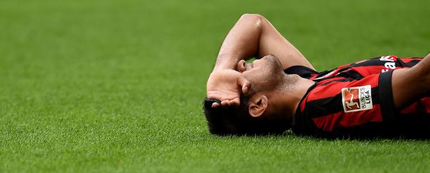 Carlos Z. am Boden. Foto: AFP