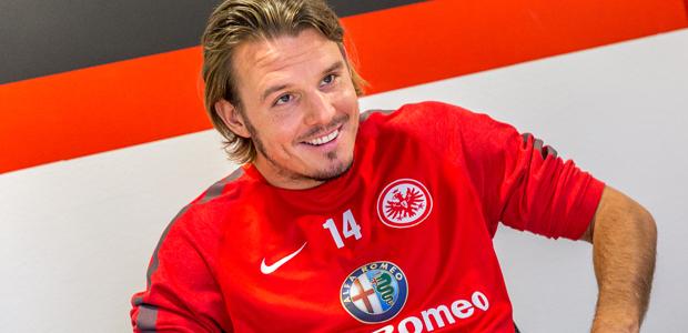 Alexander Meier, Eintrachtler. Foto: Stefan Krieger.