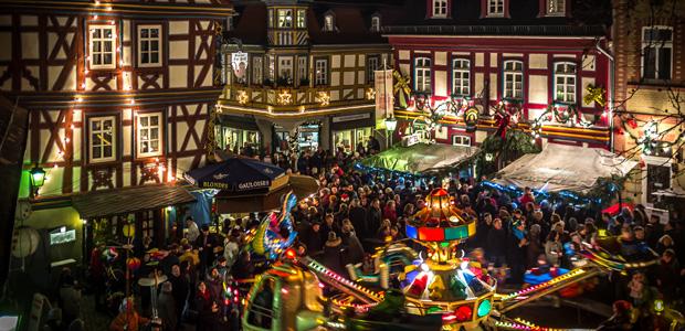 Weihnachtsmarkt in der Provinz. Foto: Stefan Krieger.