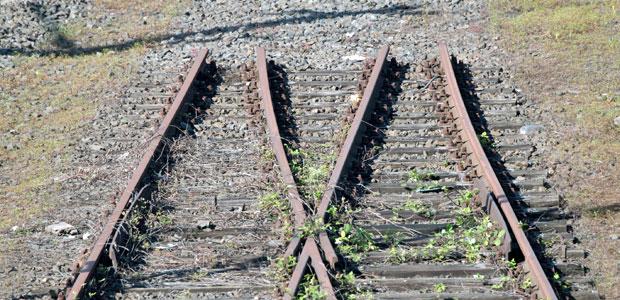 Symbolbild Bahnstreik. (dpa)