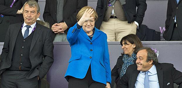Mutti ist eine Berlinerin. Foto: AFP.