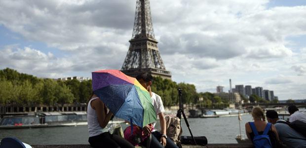 Da arbeitet unser alter Wächter Foto: AFP