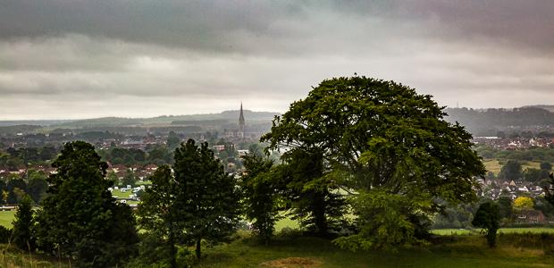 A view from Salisbury Hill. Foto: Stefan Krieger.