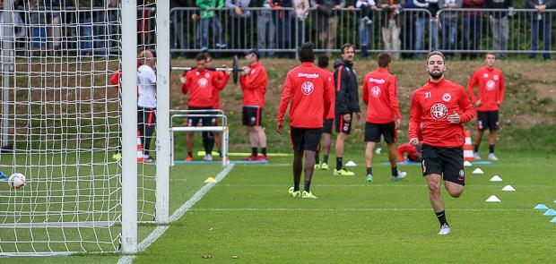 Marc Stendera trainiert für England. Foto: Stefan Krieger.