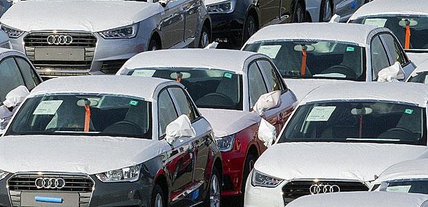 Parkplatz in Ingolstadt. Foto: Reuters.