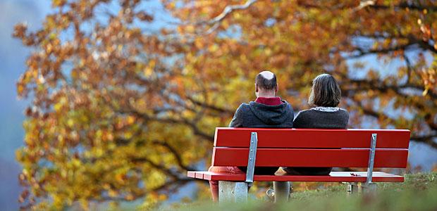 Herbst, oh Herbst, wie du die Blätter färbst. Foto: dpa.