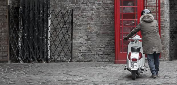 Straßenszene London, Norden. Foto: Stefan Krieger.