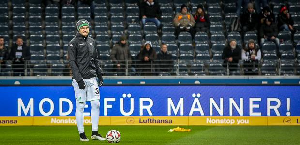 Unwürdig: Der Lord in der Kälte. Foto: Stefan Krieger.