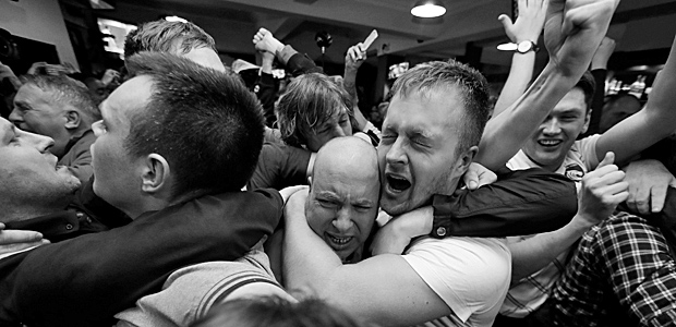 Leicester feiert. Foto: Reuters.