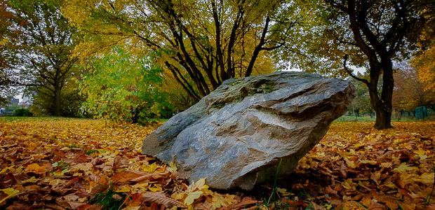 Der Fels in der Brandung (die nicht im Bild ist). Foto: Stefan Krieger.