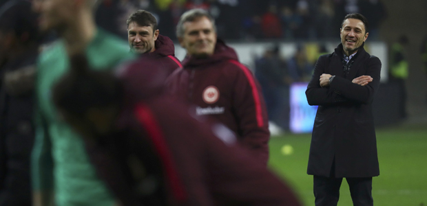 Niko Kovac freut sich auch. Foto: Reuters.