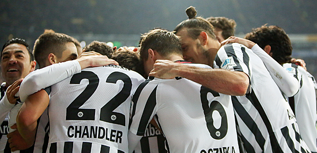 So schön war's gegen Dortmund. Foto: Stefan Krieger.