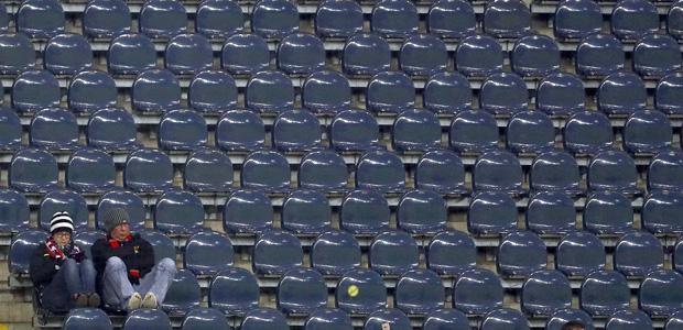 Imressionen vom letzten Spiel gegen die Schanzer. Foto: Reuters.