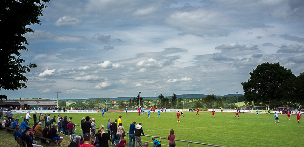 Fußball ohne Fernsehbeweis. Foto: skr.