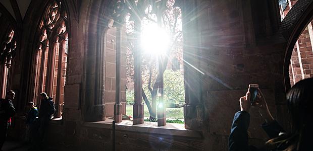 Siehst Du dieses Licht im Mainzer Dom?