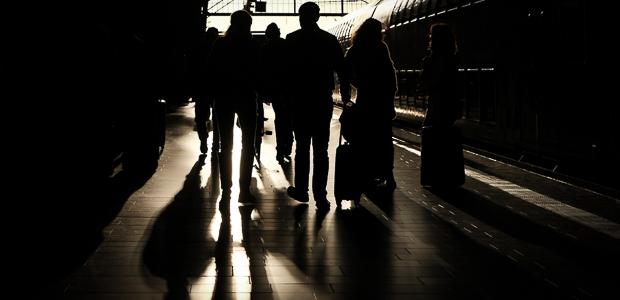 Zug nach Irgendwo. Foto: skr